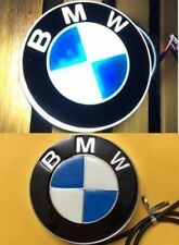 4D Led Badge Emblem Logo White Light Lamp Sticker For BMW 1 3 4 5 6 7 X3 X5 X6