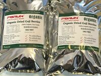 TOP GRADE Organic Certified Dry Goji Berries 1KG -Best GOJI Berries