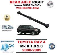 REAR AXLE RIGHT Lower CONTROL ARM ROD for TOYOTA RAV 4 Mk II 1.8 2.0 2000-2005