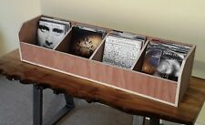 Vinyl 7 inch Singles Record LP Quad Storage Box Capacity 300 Made To Order