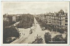 Augsburg , Kaiserstraße - Straßenbahn ungel. 1912
