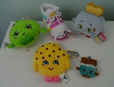 Shopkins Plush Lot Sneaky Wedge Shoe Cookie Apple Blossom Toasty Pop Toaster