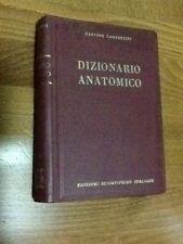 DIZIONARIO ANATOMICO (anatomici e morfologici e loro trovati) - 1949