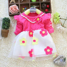 Unbranded Holiday Long Sleeve Dresses (2-16 Years) for Girls