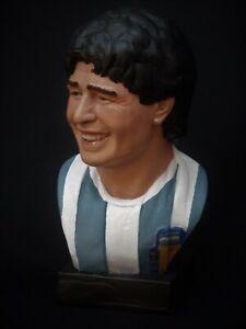 Maradona Bust , México 86 Style ..excellent Statue Figure, painted unique!