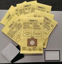 9 Bags for Kenmore Progressive Canister Vacuum Cleaner 5055 C EF1 CF1 Filter Set