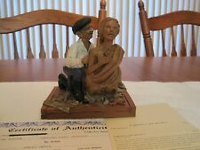 1999 Cairn Studio Carving Lady Jessica #7105 By David Merck-Edition #07