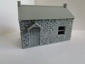 "(1) "" S ""  SCALE  WORK SHOP  /  COUNTRY BUILDING  /    ""HOLLOW""  3D  PRINTED"