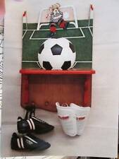 Teddy Bear Soccer Ball Shelf Debbie Mitchell Painting Packet