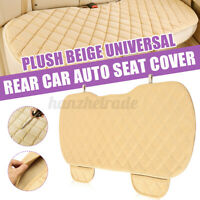 Universal Rear Car Seat Cushion Cover Full Protector Non-Slip Mat Pad Chair