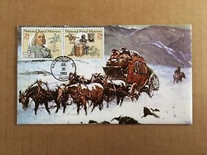 1993 National Postal Museum / Pony Express KMC Venture Special Art Cover, Wash.
