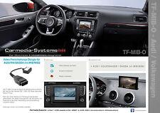 OBD Video Freischaltung VW Discover Pro/Media MIB/MIB2 High Golf 7 Sportsvan