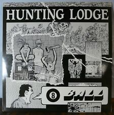 Hunting Lodge 8 Ball Vinyl Lp S/M Operations Records 1987 Industrial Music