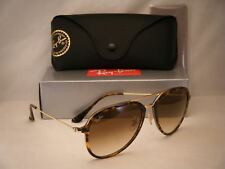 Ray Ban 4298 Light Havana w Brown Gradient Lens NEW sunglasses (RB4298 710/51)