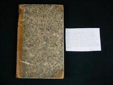 NobleSpirit {3970} Rare 1858 Journal of a Voyage from NY Toward Penang