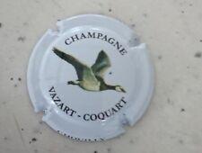 capsule champagne VAZART COQUART n°24 fond bland