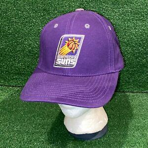 NWOT NBA Licensed Phoenix Suns Basketball Team Logo Purple Dad Hat Strapback Cap