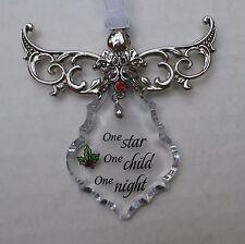 e One child star night ANGEL BLESSINGS CHRISTMAS ORNAMENT ganz