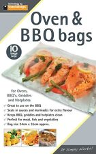 toastabags Oven BBQ & Grill Bags - Pack of 10 - Large - 24cm x 35cm - FREE P&P