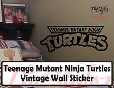 Teenage Mutant Ninja Turtles Vintage Wall Vinyl Sticker