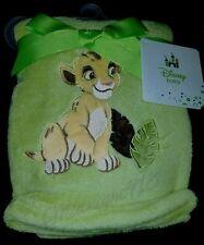 "NEW DISNEY BABY THE LION KING SIMBA  SOFT BABY BLANKET.  30"" X 40"""