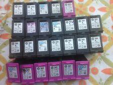 25 CARTUCCE STAMPANTE VUOTE USATE HP 301 301 XL Black e Color