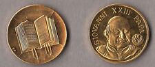MEDAGLIA a ricordo di Papa Giovanni XXIII 28 mm. Custodita in tasca di plastica