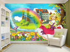 The princess-illustration Wall Mural Photo Wallpaper GIANT DECOR Paper Poster