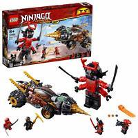 LEGO 70669 Ninjago Legacy Cole's Earth Buildable Ninja Warrior Driller Toy Set