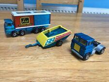 Matchbox Super Kings K14 Freight Liner, Tractor unit, K3 Tractor Trailer Job Lot