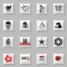 Funny Animal Words Cushion Cover Sofa Couch Pillow Case Car Waist Home Decor