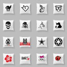Funny Animal Words Cushion Cover Sofa Couch Pillow Case Car Waist Home Decor
