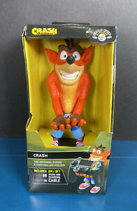 2019 Cable Guys CRASH BANDICOOT Phone & Controller Holder w/ USB Cable!