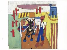 "Postcard William H Johnson ""Going to Market"" c1940 MINT Unused"
