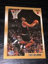 1998-99 Topps COREY BENJAMIN RC card #121 ~ Chicago Bulls Rookie ~ F1