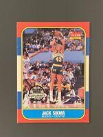 1986 Fleer #102 Jack Sikma HOF Milwaukee Bucks