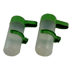 2pcs Pet Bird Drinker 70ml Tube Feeder Portable Waterer for Budgie Cockatiel