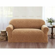 Madison STRETCH Brown sofa velvet furniture pet protector Jersey Fabric Home
