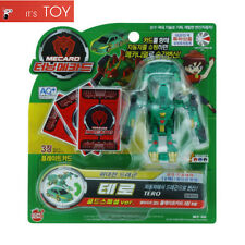 Turning Mecard TERO Green Gold Special Ver. Transformer Robot Toy Sonokong
