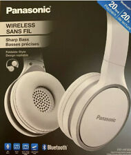 NIB Panasonic Wireless Bluetooth Headphones w/ Microphone, Sharp Bass BRAND NEW