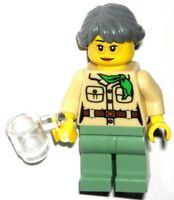 LEGO NINJAGO MISAKO MINIFIGURE Female Girl AUTHENTIC Lloyd's Mom 70751 NEW