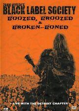 BLACK LABEL SOCIETY - Boozed, Broozed & Broken Boned DVD