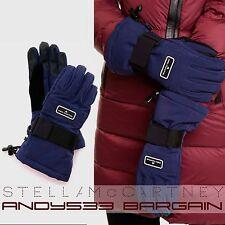 "$150 adidas by Stella McCartney Womens Ski Gloves Snowboard Fleece Velcro 8.5"" M"