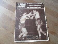 JOURNAL MIROIR DES SPORTS BUT CLUB  722 29 decembre 1958 jacques herbillon