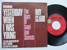 ROY CLARK Yesterday when i was young AZNAVOUR Hier encore 2C006 10357 RRR