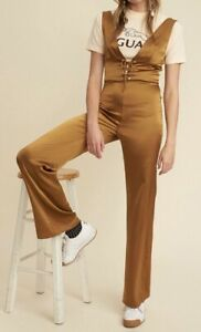 LPA brown Silk Jumpsuit XS