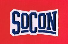 SOCON - SOUTHERN CONFERENCE FOOTBALL LOGO EMBROIDERED PATCH