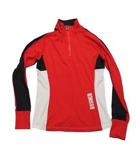 Bogner Women's Ski Sweater Jumper Tanja Red Black Size 36 S NEW