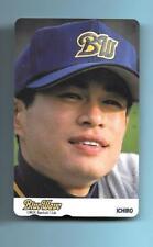 1993? Teleca Ichiro Suzuki Rookie Phone Card Onix Blue Wave #2 READ!!!