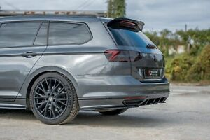 CUP Dachspoiler für VW Passat B8 3G R Line Spoiler Heck Aufsatz Verlängerung ABS